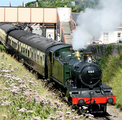 West Somerset Steam Railway at Watchet